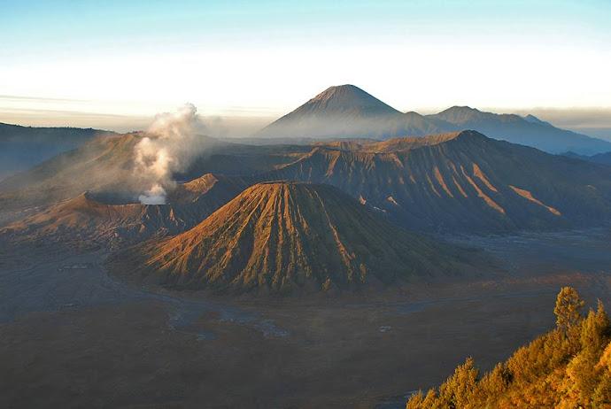 Amanecer en volcán Bromo