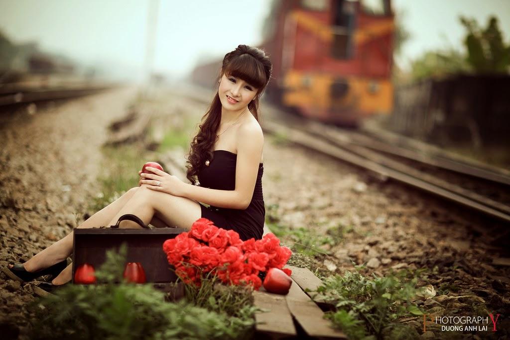 Ảnh đẹp girl xinh HD Việt Nam: Bóng hồng - Ảnh 01