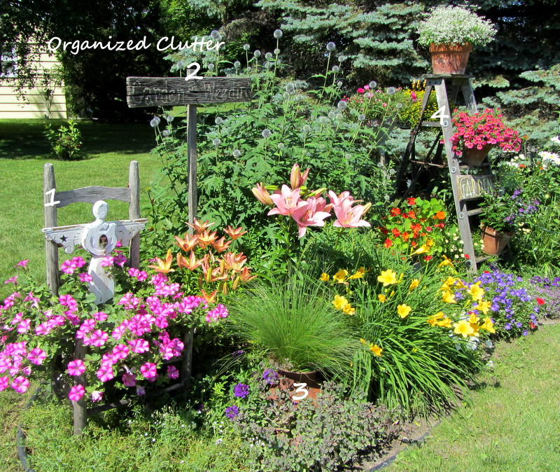 Attractive Cottage Garden Decor