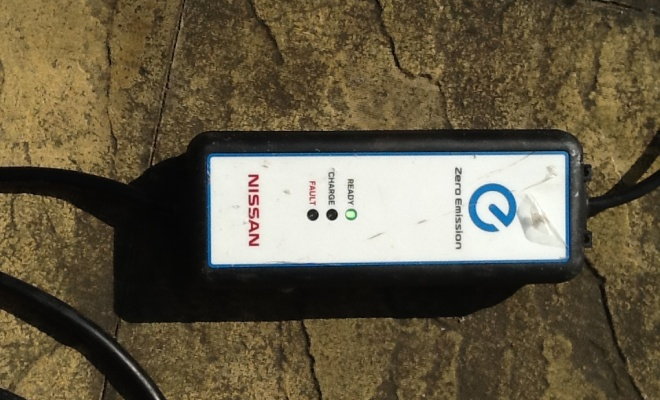 Nissan Leaf charging cable