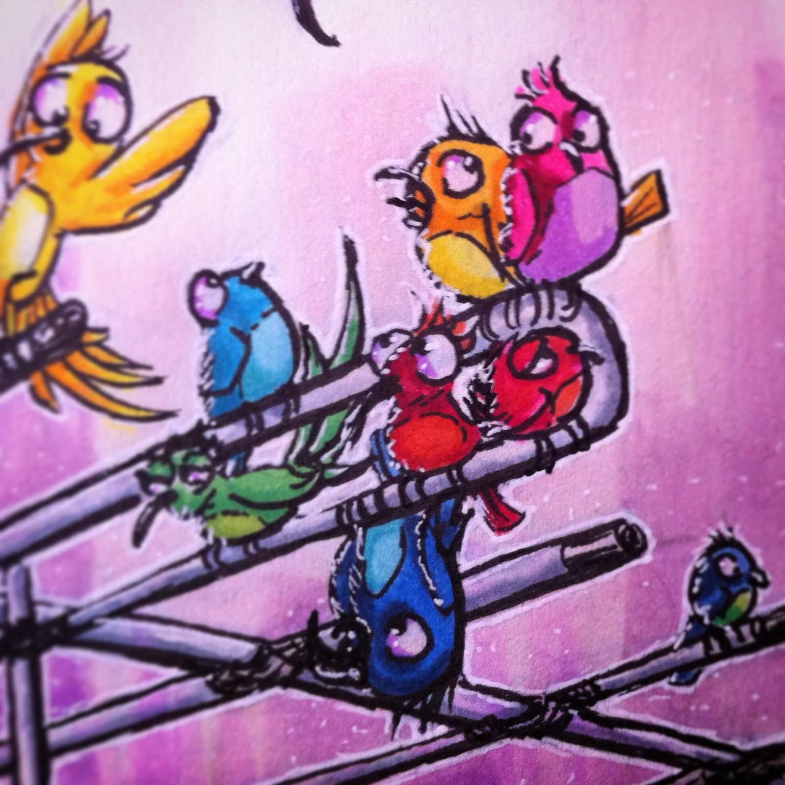 'Birdies' - Albert Casado (nfok-e) - Close-up