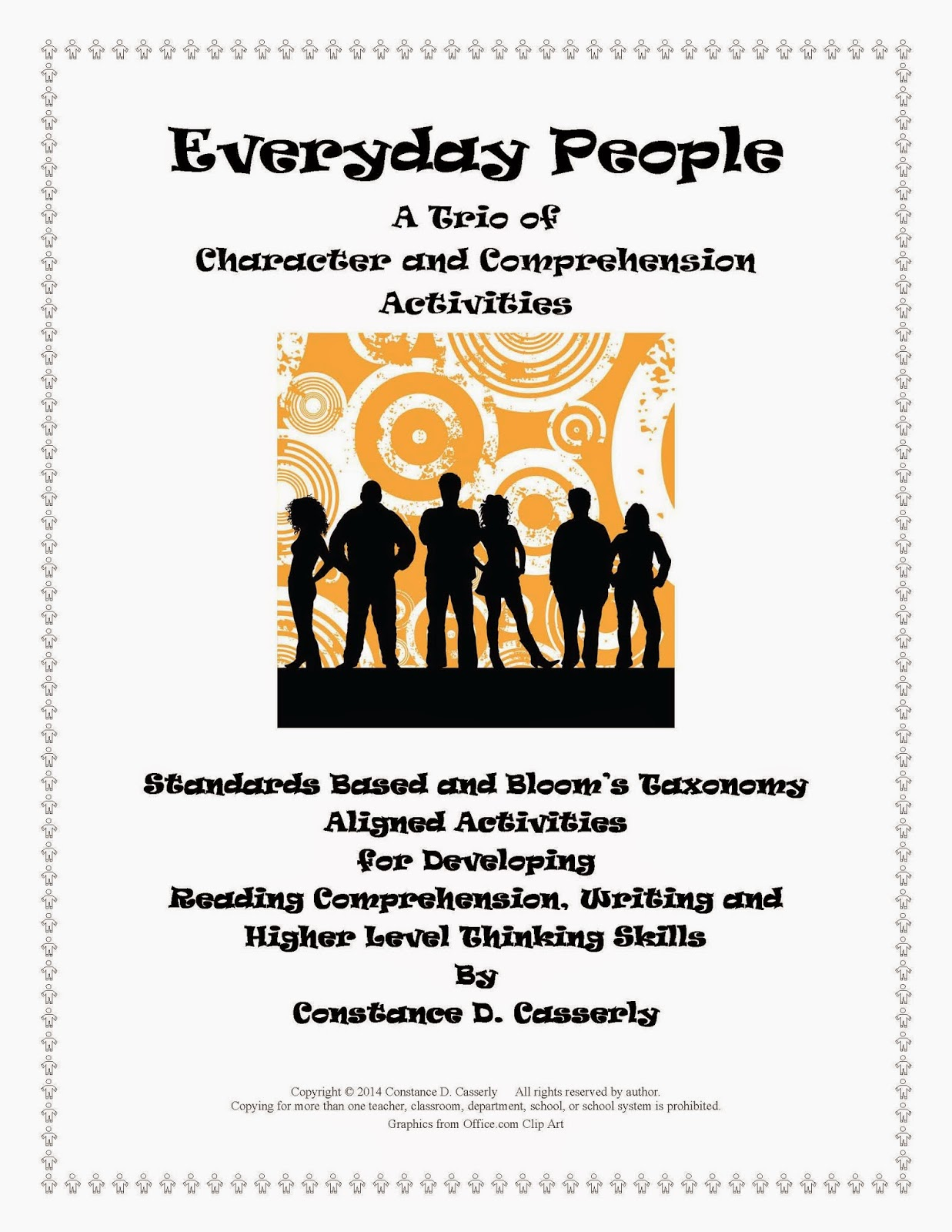 Language Arts Lessons – Everyday People A Trio of Comprehension Activities