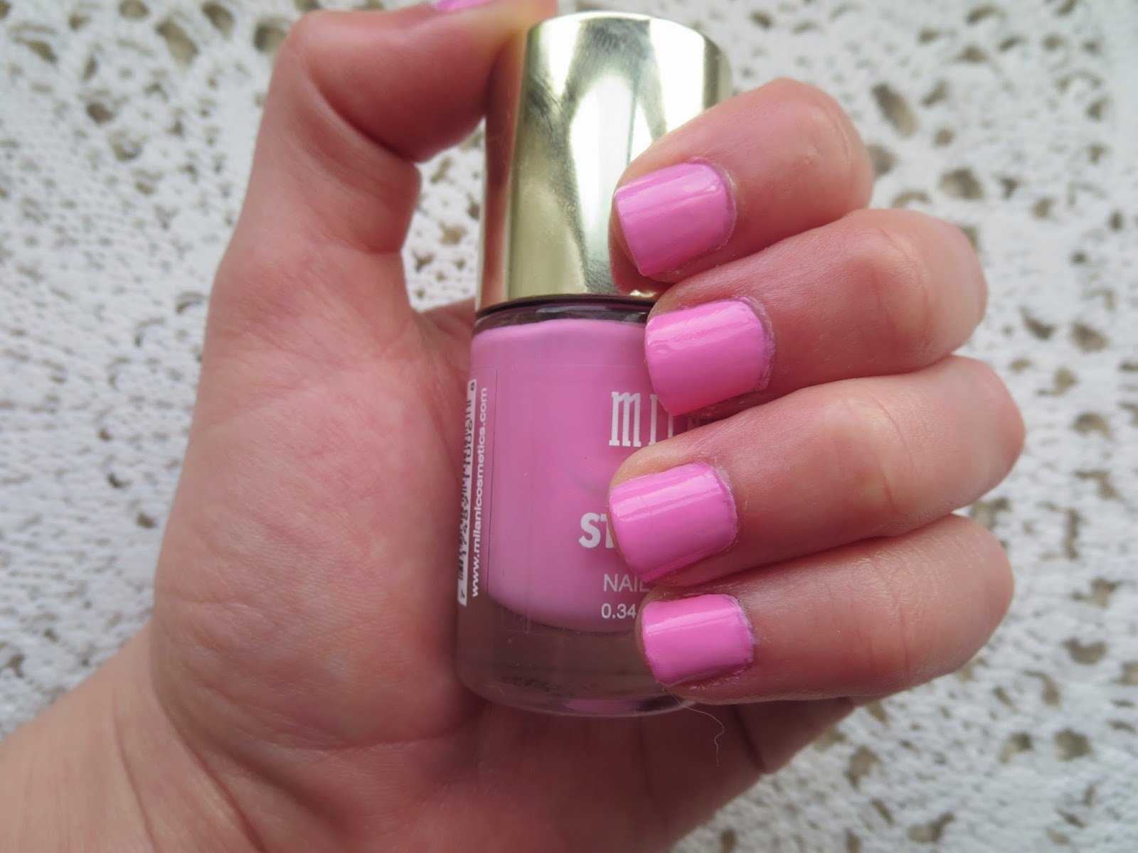 a picture of Milani Color Statement Nail Polish in Doll Face