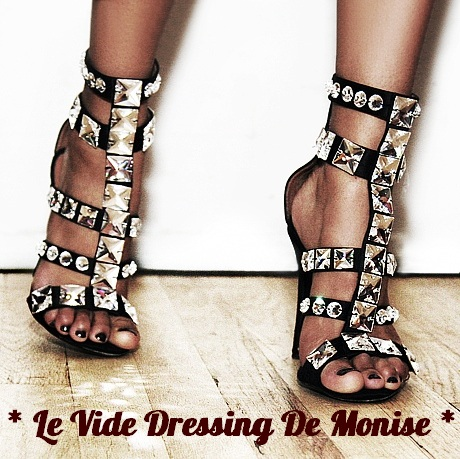 *** Monise vide son dressing ***