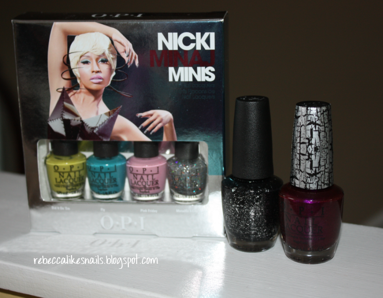 rebecca likes nails: OPI - Nicki Minaj Collection - swatches and review