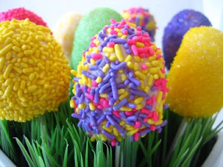 Delicious Easter Egg Cake Pops Decorations