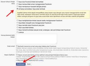 Cara Menonaktifkan Facebook Sementara atau Selamanya