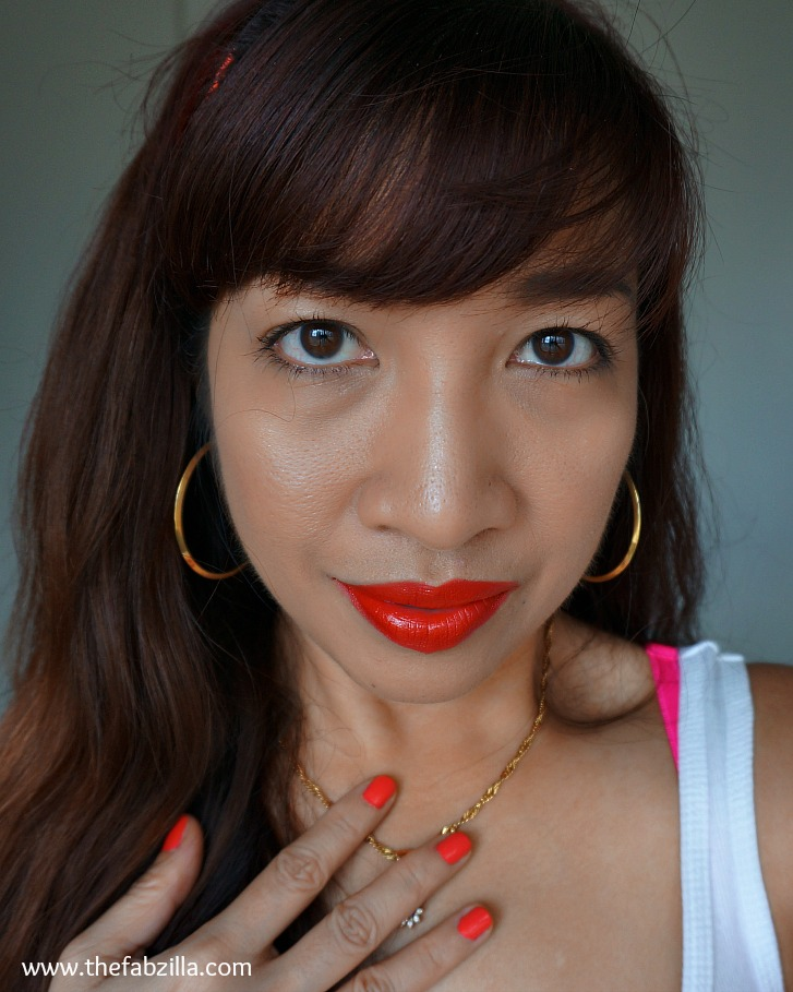how to wear orange for summer, orange lips, orange nails, gorgeous cosmetics review, opi brazilian collection