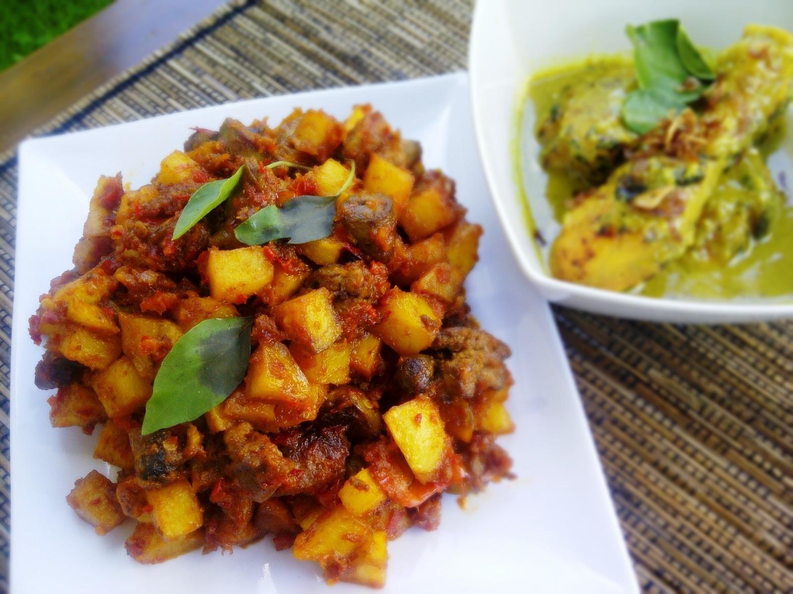 Resep sambal goreng ati kentang