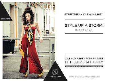 Rana Wehbe-Flinter collaboration with L'ile Aux Ashby