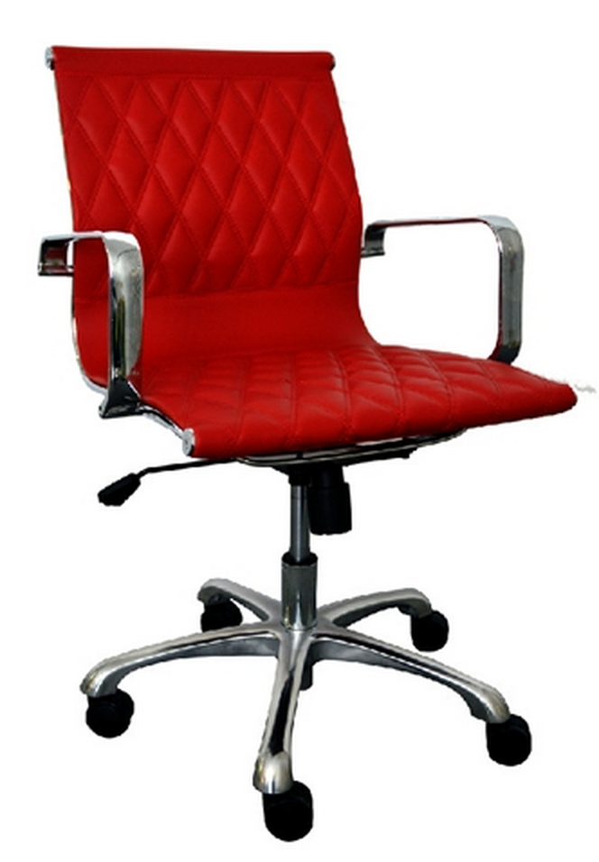 Annie Series Modern Red Chair by Woodstock