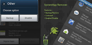 SystemApp Remover for Android