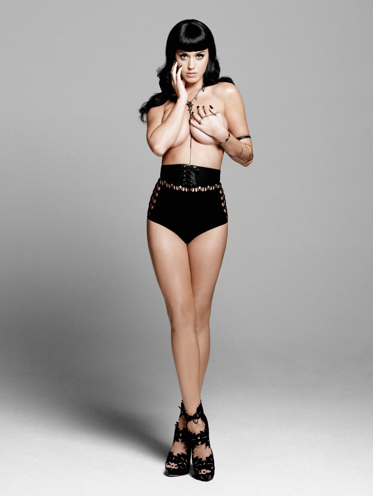 Katy Perry Toples For Esquire Magazine