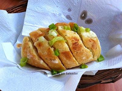 Restaurante Carro de Boi: Pão com Creme de Alho