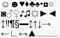 CÓDIGO DE TECLADO ALT+ para FACEBOOK para TWITTER para GOOGLE PLUS ASCII ALT+ SIMBOLOS ALT+ LISTA DE ALT+ CARACTERES ALT CODE ALT+