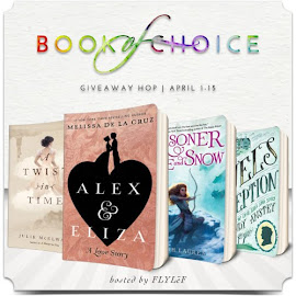April Book of Choice Giveaway