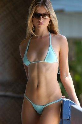 bikini blue fashion blonde model 4bfff60cac m Edwardian nude. GEORGE BELL.