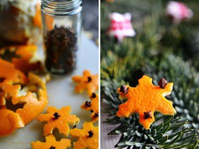Ambientador natural de naranja con clavo en Recicla Inventa