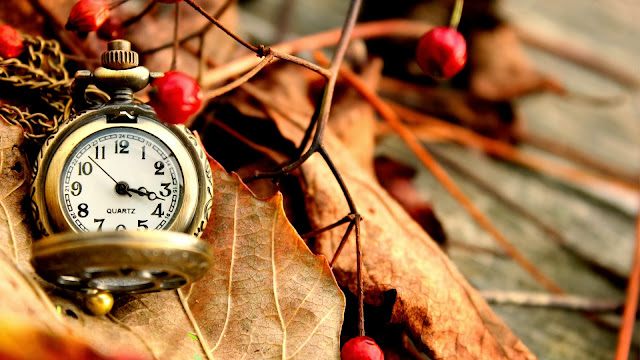 Autumn Pocket Watch