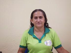 Coordenadora da escola Ana Maria