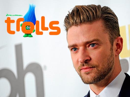 Justin Timberlake se une a la comedia animada 'Trolls'
