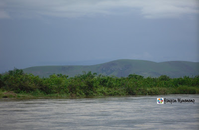Table Mountain from Kinkole River View DR Congo