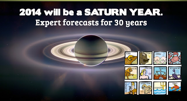2014 will be a SATURN YEAR