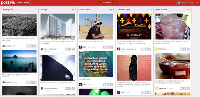 Postris (Visualizador de las fotos más populares de Pinterest)