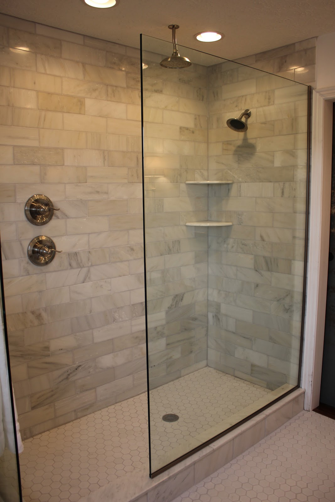 Design decor and remodel projects for Large glass tiles for bathroom