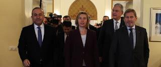 «Δεν σας δίνουμε χαρτζιλίκι τα 3 δισ!».Η Μογκερίνι έκανε έξαλλους τους Τούρκους και απαίτησε ανακωχή με τους Κούρδους