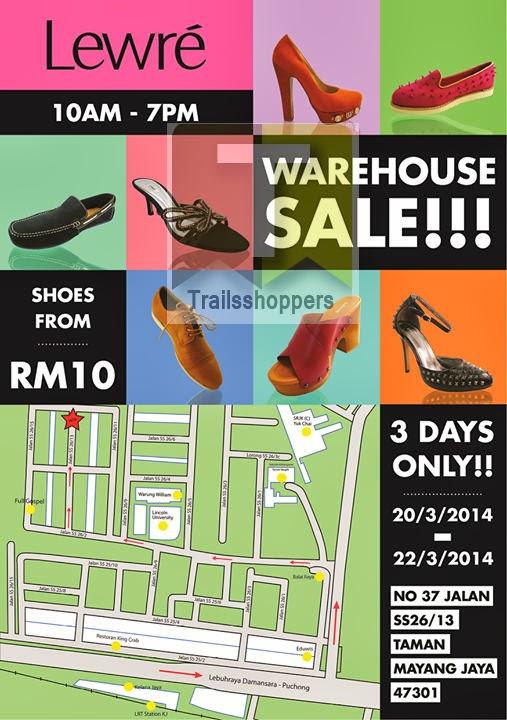 Lewre Shoes Warehouse Sale Petaling Jaya Selangor