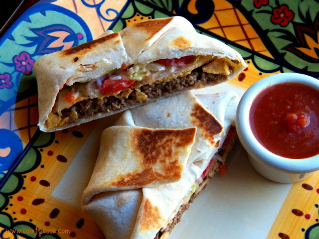 Taco Bell's Crunch Wrap Supreme