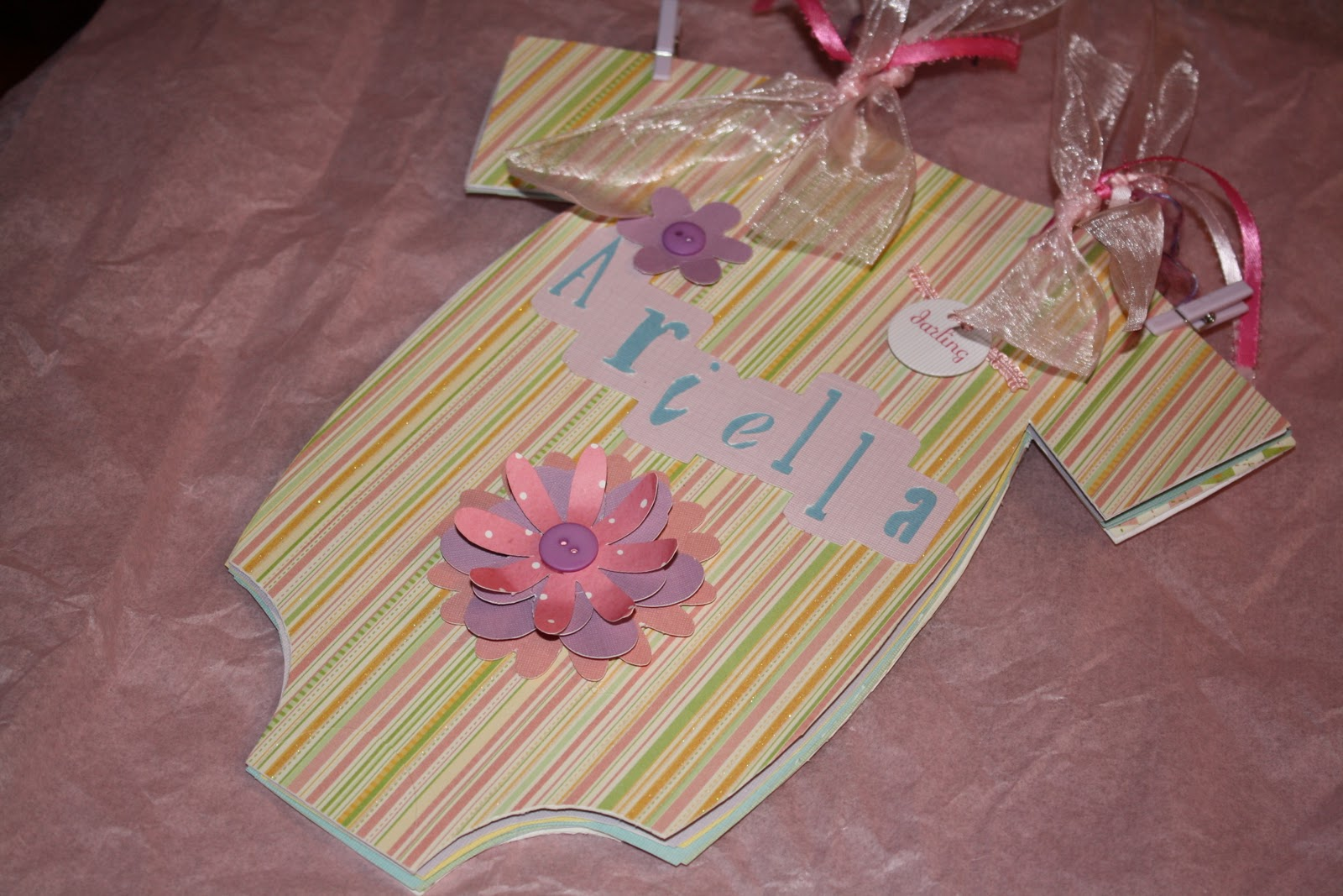 krafty mama of 5 baby shower guest sign in book
