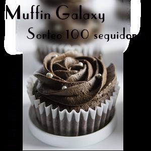 Sorteo 100 Seguidores en Muffin Galaxy