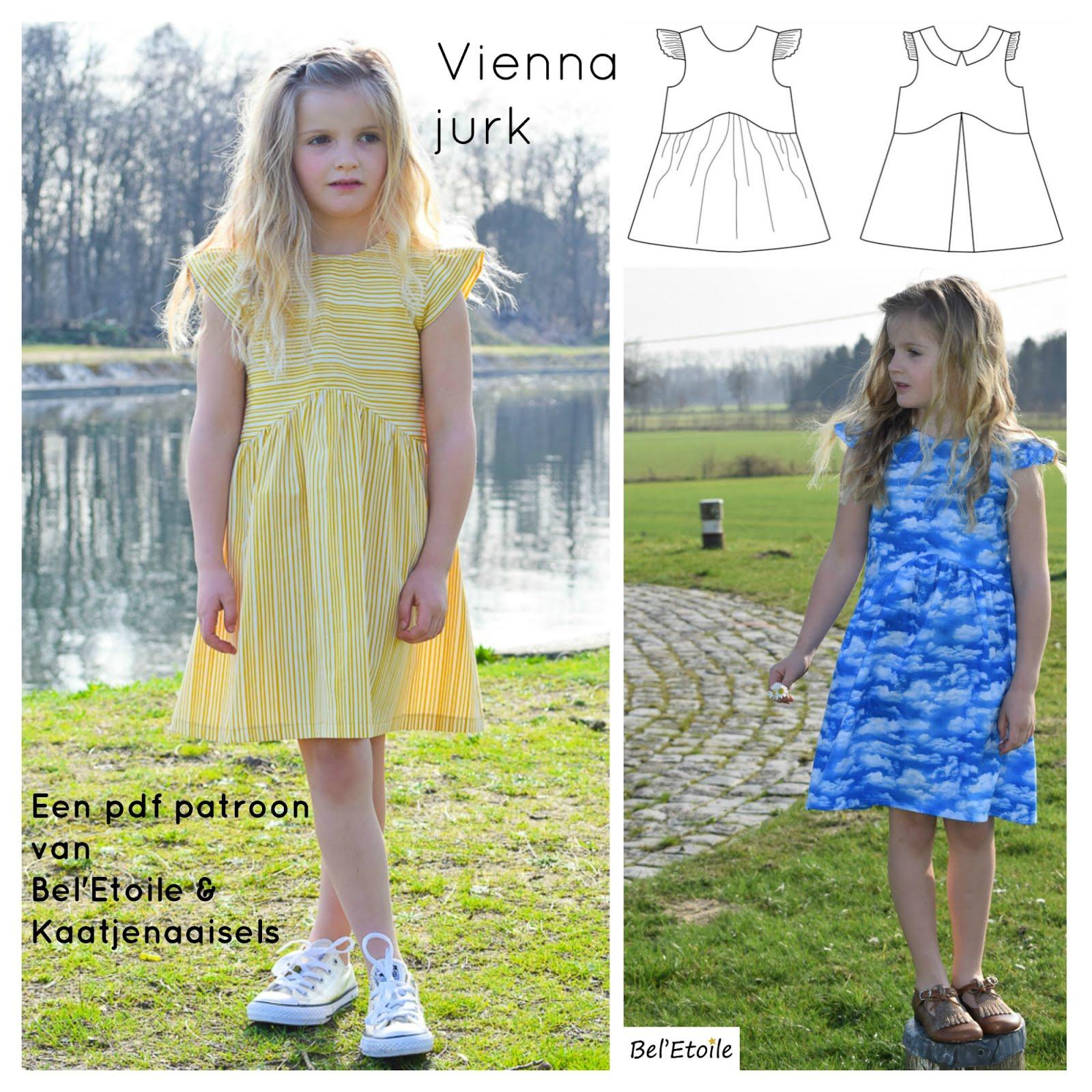 Vienna jurk - pdf patroon