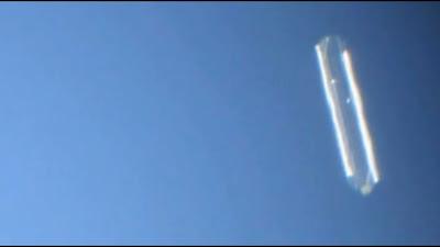 Ovni cilíndrico captado en los Montes Apalaches, EEUU - 16 de octubre de 2012
