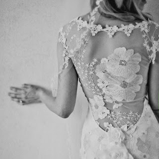 Lace Back Clair Pettibone Gown