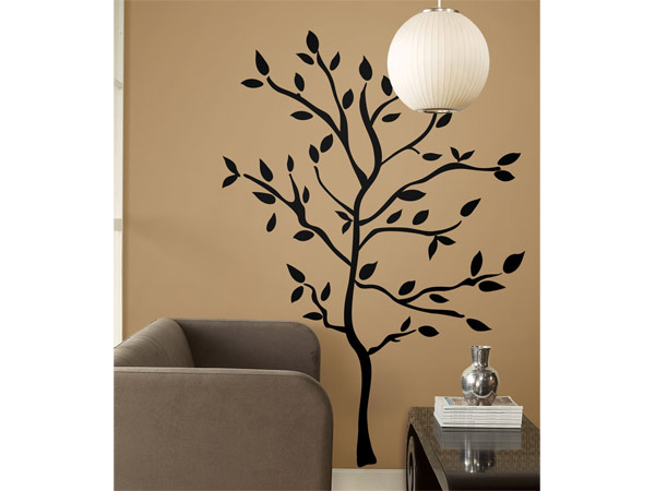 Wall Stencil Designs Trees : Inside the frame textured walls stencils