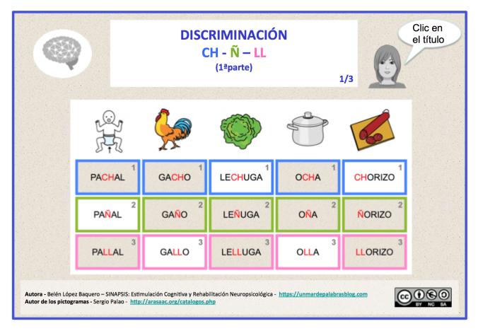 DISCRIMINACIÓN CH-LL-Ñ