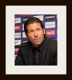 Translations of Diego Pablo Simeone: Manager of Club Atlético de Madrid.