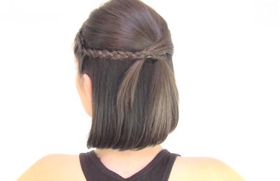 Peinados Faciles Pelo Corto Paso A Paso Elainacortez - Peinados-faciles-de-hacer-para-pelo-corto