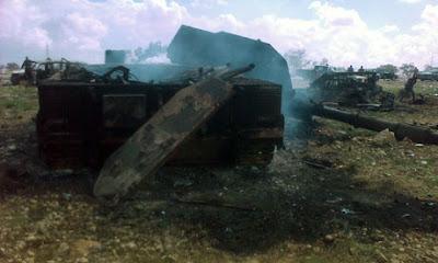 tanques explotados