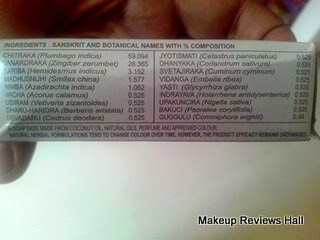 Medimix Soap Ingredients List