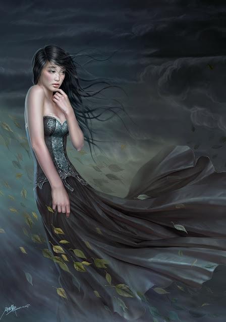 The Autumn Wind,digital art,Yuehui Tang