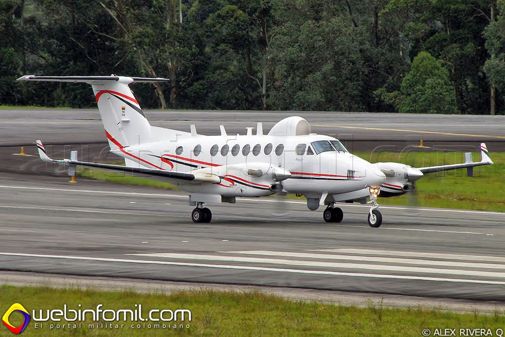 Beechcraft Super King Air B-350 Inteligencia Fuerza aerea