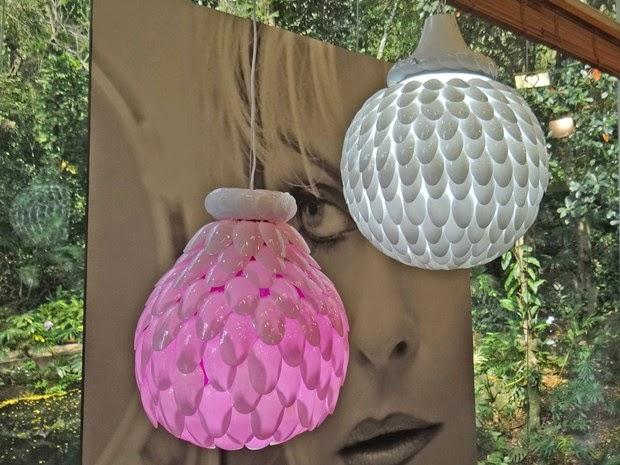 Adesivo De Parede Infantil Masculino ~ 5 ideias de luminária feitas a parti da reciclagem Blog Das Art