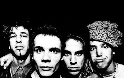 hillel slovak, flea, anthony kiedis e jack irons