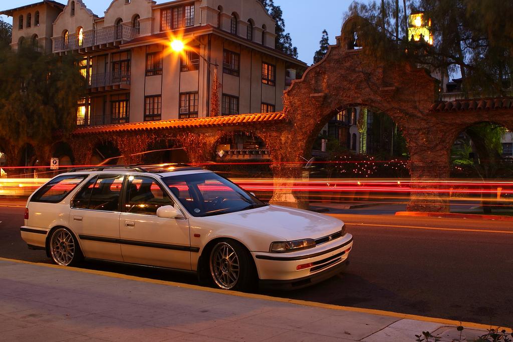 Honda Accord Wagon, ciekawe samochody kombi, japońska motoryzacja, grianghraf