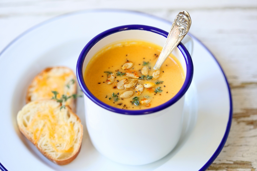 Beyond Sweet and Savory: Roasted Butternut Squash Soup