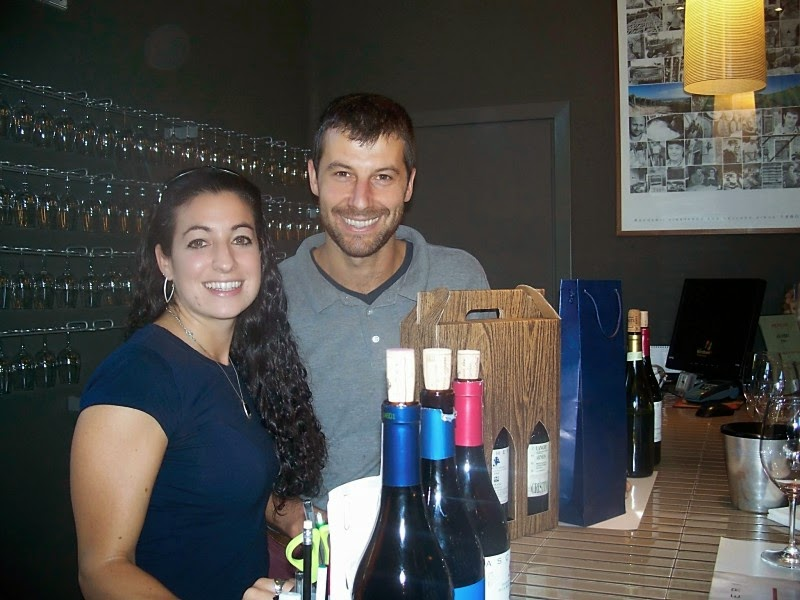 winemaker Giuliano Bedino at Ascheri winery